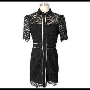 New!Sandro Livy Lace Mini Dress